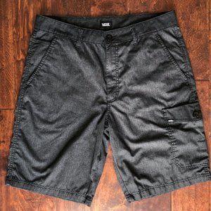 Van's GOODSMAN Charcoal Cargo Shorts Sz 34